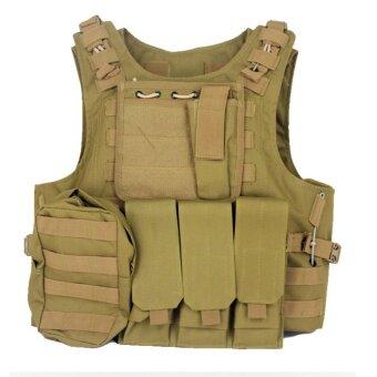 เสื้อเกราะกันกระสุน ชุดบีบีกัน รุ่น BM0 (สีทราย)