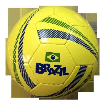 ประเทศไทย ฟุตบอลบอลหนังเย็บลายทีมชาติบลาซิล Brazil เบอร์ 5
