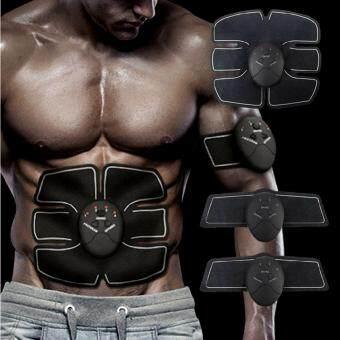 แผ่นสร้างกล้ามเนื้อสลิมมิ่งร่างกาย เครื่องกระตุ้นกล้ามเนื้อหน้าท้อง แขนขา Burner Fitness Gear Training Slimming Body Sculptor Muscle Trainer Butterfly ab Gymnic Belt Massager Pad Abdominal Muscle Exerciser Belts Fat Burner