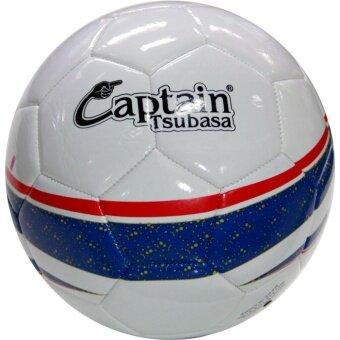 Captain Tsubasa football ฟุตบอล หนังเย็บ PVC เบอร์ 5 (น้ำเงิน-แดง)