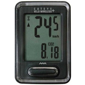 2561 Cateye ไมล์จักรยาน แบบไร้สาย Velo Wireless+ ( Black )