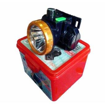 CHANG ไฟฉายคาดหัว ตราช้าง 594 LED 50W สวิตซ์โวลุ่ม (ไฟสีขาว) ใช้งานลุยฝน