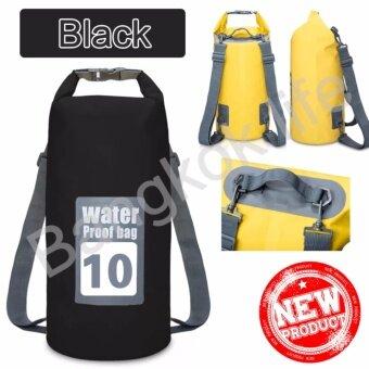 2561 CICI กระเป๋ากันน้ำ ถุงกันน้ำ ถุงทะเล Waterproof Bag ความจุ 10 ลิตร กระเป๋า กระเป๋าสะพาย กระเป๋าเป้สะพายหลัง