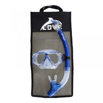 ซื้อ/ขาย Cove ชุดหน้ากากดำน้ำ รุ่น Splash-S - Metal Blue