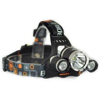 ราคา ไฟฉายคาดหัว CREE XM-L T6 X3 LED (Black)