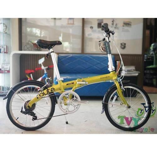 Dahon จักรยานพับได้ รุ่น Route (สีเขียว)