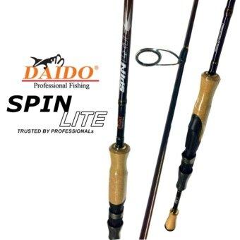 คันเบ็ดตกปลา คันตกหมึก คันสปิ๋ว DAIDO SPINLITE SP662UL / 1.95M /2-6LB / 0.9-2.7KG