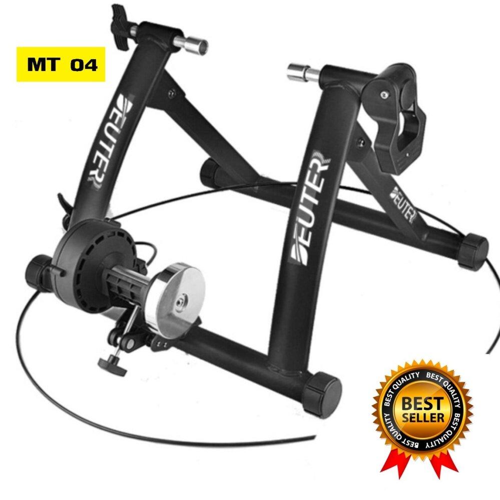 แบบไหนดี เทรนเนอร์จักรยาน รุ่น MT-04 มีสายรีโมทปรับความหนืด 6ระดับ