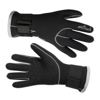 DiveSail 3mm Neoprene Diving Gloves High Quality Gloves For Swimming Keep Warm Diving Equipment - intl