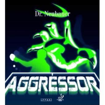 ราคา DR.NEUBAUER ยางปิงปอง รุ่น AGGRESSOR ฟองน้ำ 1.3 มม สีดำ (เม็ดกึ่ง)
