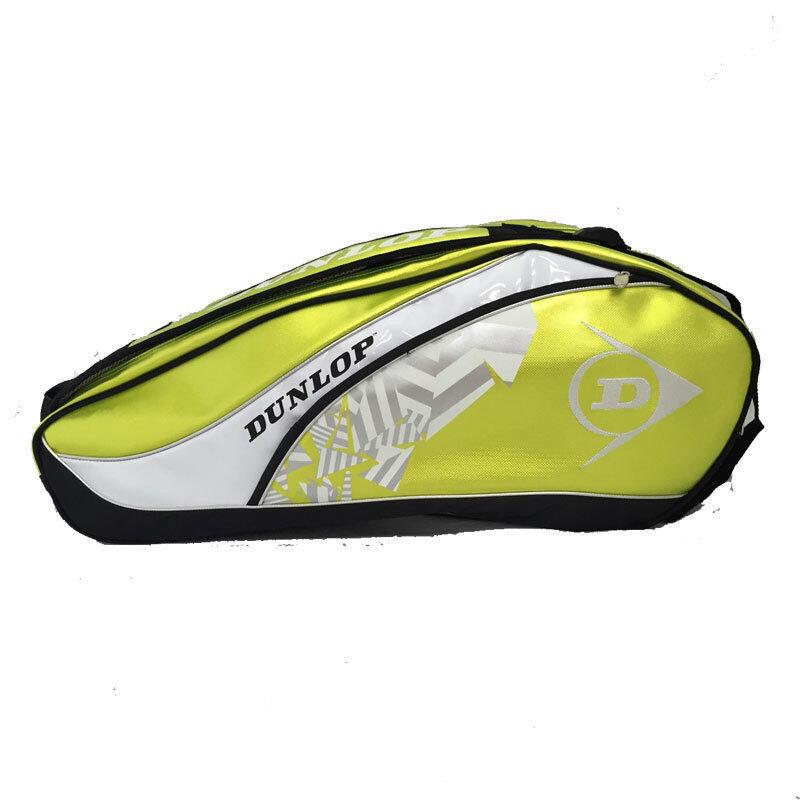 Dunlop กระเป๋าใส่อุปกรณ์แบดมินตัน ELITE 2COMP RKT BAG 1501 (Lime Green/White)