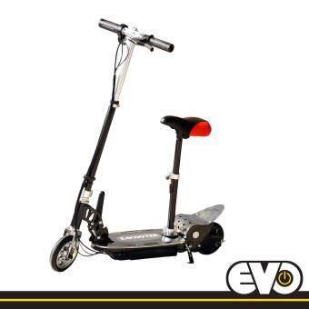 E scooter สกุ๊ตเตอร์ไฟฟ้า ES-3S-bk (black) มอเตอร์แรงโครงเหล็กคุณภาพดี พับเก็บได้ สะสวกสบาย