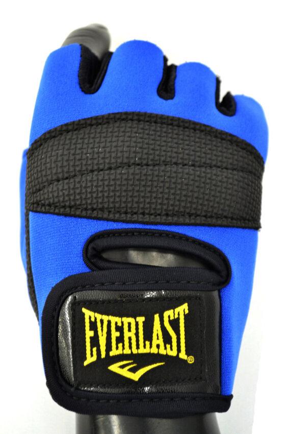 Everlast ถุงมือยกน้ำหนัก EVERLAST TRAINING GLOVES L (BLUE/BLACK)