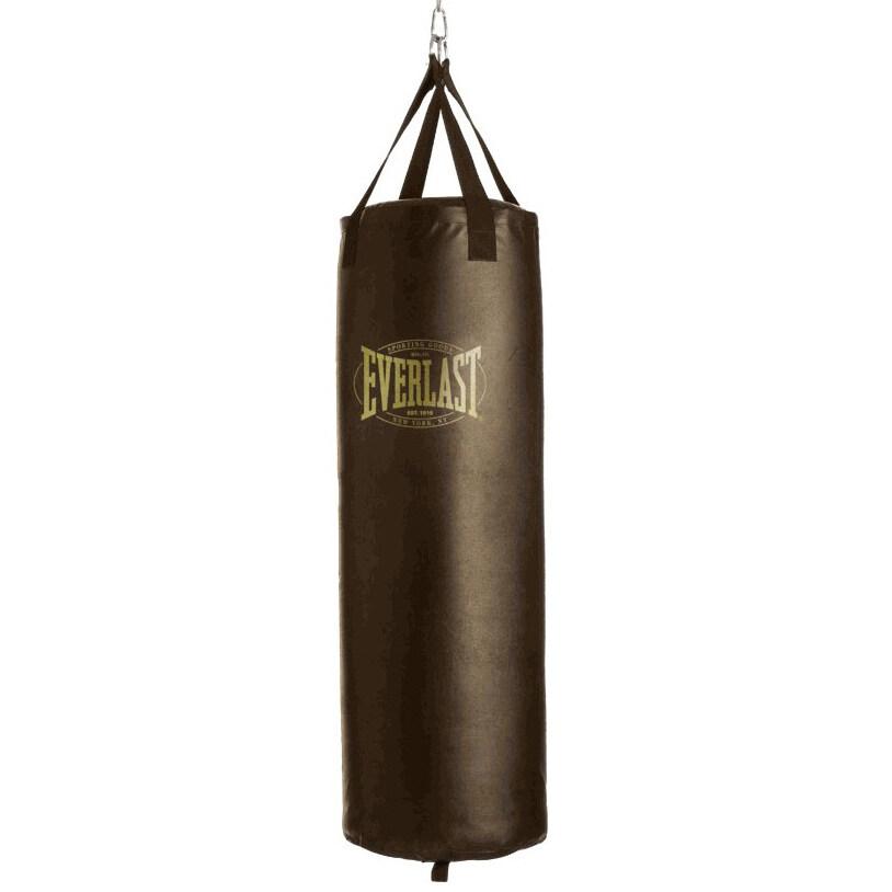 Everlast กระสอบทรายไม่บรรจุไส้ Vintage Heavy Bag (Brown)