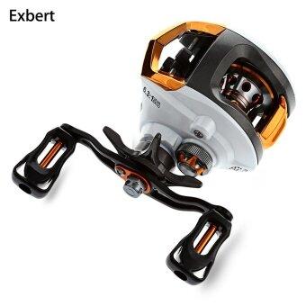 Exbert 12 + 1 Bearings High Quality Left / Right Hand Water Drop Wheel Fishing Reel - intl