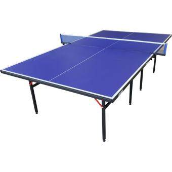 EXCALIBUR โต๊ะเทเบิลเทนนิส โต๊ะปิงปอง พับได้ หนา 15 มม.รุ่น EB-888(น้ำเงิน) พร้อม เน็ตปิงปอง