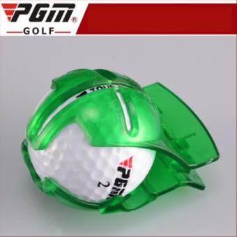 EXCEED Golf Ball line Marker PGM แบบหนีบลูกกอล์ฟ (HXQ001) สีเขียว