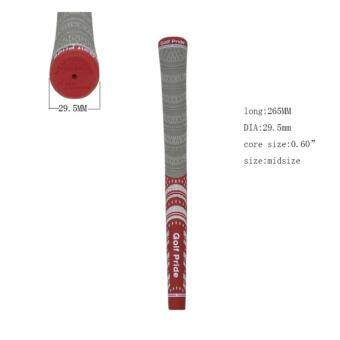 EXCEED กริพไม้กอล์ฟ สีแดง Universal Golf Club (RED) Standard sizeRubber Grips Wrap Non-slip Golfer Training Aid GGP004