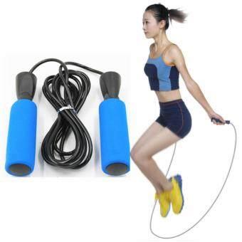 ซื้อ/ขาย Fashion style ซมลูกปืนเบา ๆ กระโดดเชือกข้ามเชือกจัดการสำหรับการออกกำลังกาย ความเร็วกระโดด การออกกำลังกาย มวย เผาผลาญพลังงาน