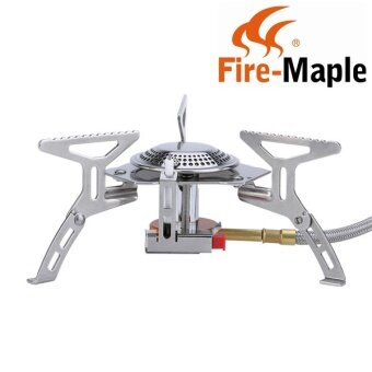 Fire-Maple FMS-105 Outdoor Camping Hiking Portable Split Foldable Gas Stove Cooking 2600W - intl
