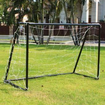 Floyd โกลฟุตบอล ประตูฟุตบอล โกลหนู GKS120 สีดำ ขนาด 120x80x55 cm.