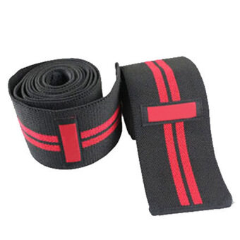 FLY Aolikes Knee Support Gym Weight Lifting Bands Bandage Wrapcompression Brace 2M U2013 Black+Red - intl