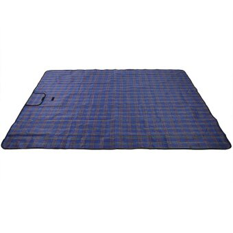 Foldable Moisture Proof Picnic Beach Camping Mat Blanket withHandle (Blue) - intl - 3