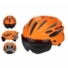 หมวกจักรยานมีแว่น GUB K80 PLUS