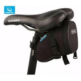 MATTEO กระเป๋าติดจักรยาน Roswheel แบบใต้เบาะ สีดำสุขุม Saddle Bag