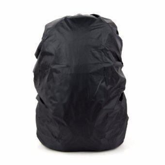 ผ้าคลุมกระเป๋า กันน้ำ45-65 ลิตร-สีดำ