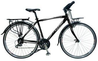 MIR จักรยาน รุ่น ADVENTURE 700C 24SPEED (สีดำ/เทา)