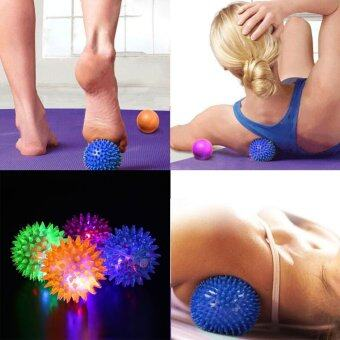 Harga Foot Body Spiky Massage Ball Point Fitness Hand Foot Pain Relief 6.5cm - intl