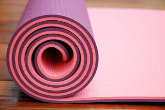 Sappaya Yoga Mat เสื่อโยคะ 2 Layers หนา 6 mm - สีม่วง