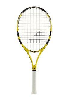 Babolat ไม้เทนนิส BABOLAT EVOKE 105 STRUNG 2015 (สีเหลือง/ดำ)