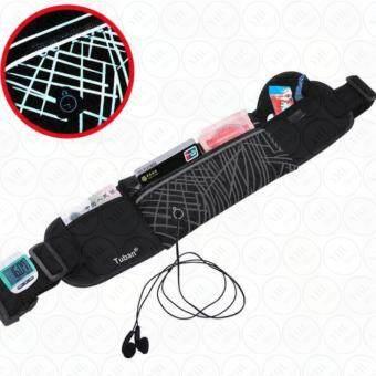 YHL พรีเมียม กระเป๋าวิ่งแบบคาดเอว กระเป๋ากีฬาแบบคาดเอว กระเป๋าคาดเอว เข็มขัดวิ่ง ใส่โทรศัพท์มือถือกันน้ำได้ Premium Waterproof Sport Running Belt รุ่นTB-01
