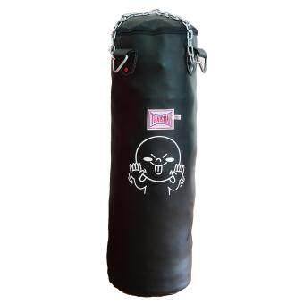 Thaismai กระสอบทราย PU & Canvas Heavy Bag (Empty Bag PU Black)