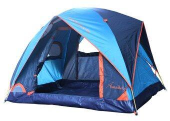 Field and Camping เต็นท์ ขนาด 210x150x135 ซม. รุ่น Aurora EX (สีน้ำเงิน/กรม)