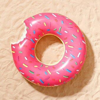 Donut Pool Float ห่วงยาง โดนัท 1.2 เมตร (Pink)