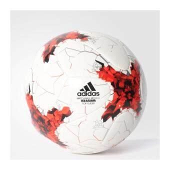 ADIDAS ลูกฟุตบอล รุ่น CONFED TOP GLI - AZ3204-5 (WHITE/RED)