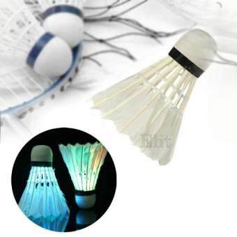Elit ลูกขนไก่แบตมินตันเรืองแสง ไฟกระพริบ LED shuttlecock badminton 4 ชิ้น