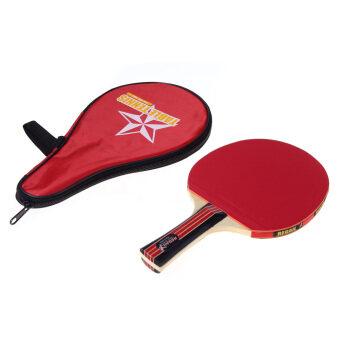 ลองจัดการจับมือปิงปองแบดมินตันปิงปองไม้+กระเป๋ากระเป๋ากันน้ำสีแดง