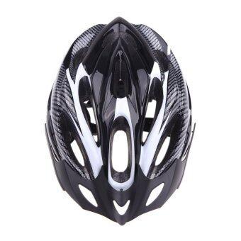 Thaibike bicycle helmet หมวกกันน๊อคลายเคพล่า - Black
