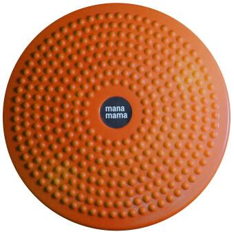 จานทวิส จานทวิสต์ จานหมุนเอว ที่หมุนลดเอว ขนาดใหญ่ สีส้ม / Waist twist disc board / Orange