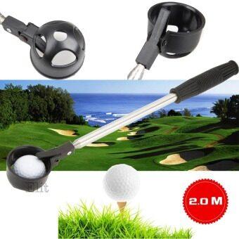 Elit อุปกรณ์เก็บลูกกอล์ฟ ตักลูกกอล์ฟ Golf Ball Telescopic Pick Up 2M