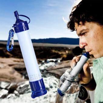 Elit หลอดกรองน้ำ เครื่องกรองน้ำแบบพกพา หลอดกรองน้ำสำหรับเดินป่า