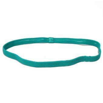 Women Man Yoga Sports Gym Stretch Headband Hair Rope Anti-slip Elastic Band
