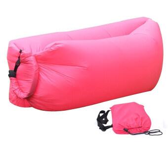 โซฟาลม แบบพกพา Sofa air bag (สีชมพู)