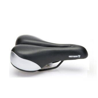 Harga Bicycle Seat Cycling Saddle Comfortable Seat Mountain Bike Sponge Big Cushion Ride Bicycle Accessories