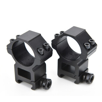 Buytra Dia Ring Picatinny Mount Scope Rifle