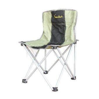 Field and camping เก้าอี้รวบเล็ก ขนาด 36x36x37/63 สี เขียว - ดำ